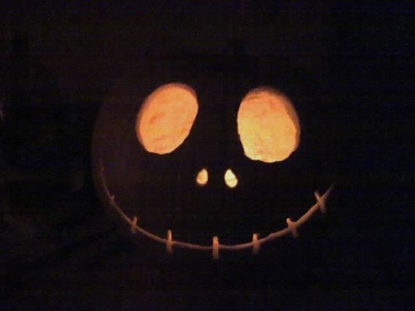 My Jack Skellington Punkin!